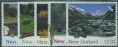 NZ SG2630-4 New Zealand Waterways set of 5